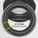 1 x Foamrand voor reparatie Visonik 50 luidspreker