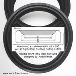 1 x Foamrand voor reparatie Technics SB-5000 - flexibel
