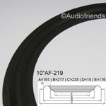 1 x Foamrand voor Technics SASS25PL07AT - flexibel