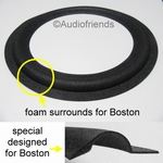 1 x Foam surround for repair Boston 10 inch speaker / woofer