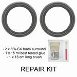 Bang & Olufsen S45, S55 woofer - Repairkit foam surrounds