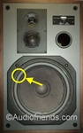 1 x Foam surround for repair Revox Triton B woofer
