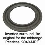 1 x Foamrand voor reparatie midrange KLH SCX-A