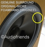 1 x GENUINE foam surround for repair T+A OEC 1000 (Kurt M.)