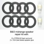 Repairkit FOAM surrounds B&O Bang & Olufsen Beovox/lab Penta