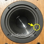 1 x Foamrand voor Infinity Reference 1, 2, 3, 4 woofer