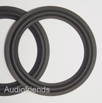 1 x RUBBER rand 6,5 inch voor power luidsprekers (auto)