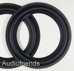 1 x RUBBER 5 inch suround for different speakers