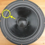 1x GENUINE surround Vifa M25WO-15 woofer (Kurt Müller)