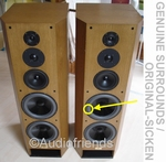 T+A TMR 160 speaker foam repair GENUINE surround woofer
