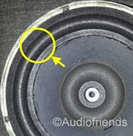 KEF B160 - SP1275 - 1x Foam surround for repair 6,5 inch