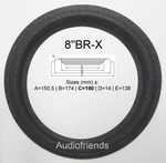 Braun L640 Repairkit foam surrounds for speaker