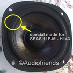 4 inch FOAM surround for repair - 1 piece