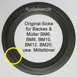 5 inch FOAM Kurt Müller SR116/5 surround for Backes & Müller