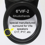 6 inch FOAM surround for repair VIFA speakers