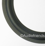 6,5 inch RUBBER rand voor power/auto speaker reparatie