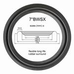 7 inch RUBBER rand voor reparatie B&W Sorrento