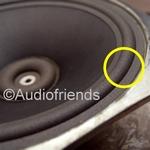 10 inch FOAM rand voor speaker reparatie KEF RR107/RR107.2