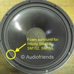 15 inch FOAM surround for speaker repair INF