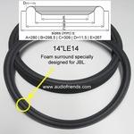 14 inch FOAM surround for speaker repair JBL LE14