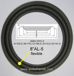 DALI 4 IV - 4x Foam surround for repair woofer