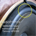 Tannoy Arundel - 1x GENUINE foam surround for HPD385 repair