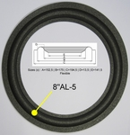 1 x Foam Surround for KEF 104.2 / 105.3 - B200 - SP1256