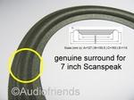 Scanspeak 18W/8542-00 - 1x Genuine FOAm surround