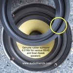 SEAS P17RCY woofer - 1x Original/Genuine RUBBER surround
