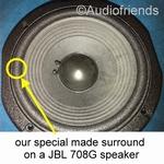 JBL 708G-1 / 708G-2 - 1 x Foam surround for repair JBL L7