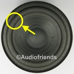 Repairkit foam surrounds for RFT BR25, BR26, 7102 speakers
