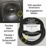 1 x Foamrand voor reparatie Peerless PT210M woofer