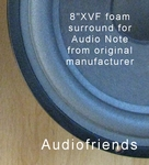 1 x Foam surround genuine for Audio Note AZ-Two (Seas 21) Euro