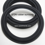 1 x Genuine RUBBER surround for Dynaudio 15W75