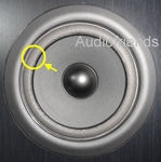 1 x Foam surround for repair Philips FB840 / FB850 woofer