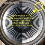 1 x Foamrand bas luidspreker Infinity Reference 41mk2