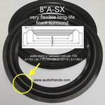 1 x Foam surround Acoustic Research AR28LS woofer