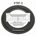 RFT BR25, BR26, BR50, BR100, 7102 - 6 x Schaumstoff Sicken