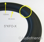 1 x Rubber surrounds KEF B110 with wide roll (Kurt M.)