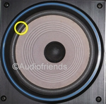 1 x Foam surround Matchline Pyramide woofer -80502/W8