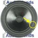 1 x Foam surround for Heybrook Trio - Vifa M21WG-09 woofer