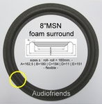 1 x Flexible foam surround Jamo Power 265 - W21995