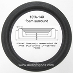 1 x Foam surround for JVC SK-600 SII / SK-700 SII