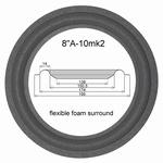 1 x Foamrand JBL Studio Monitor 4408 - 116H-2