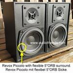 4 x Foamrand Revox Piccolo mk1/mk2  |  Stereolith Duetto