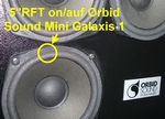 Orbid Sound Mini Galaxis > 16 x Schaumstoff Sicken