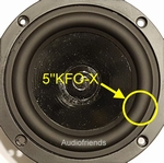 Focal 5N411, 5N412 > 1x RUBBER surround for repair speaker