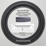 1 x GENUINE foam surround Dynaudio 8/9 inch (Kurt M.)