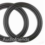 4 x RUBBER 10 inch rand voor diverse speakers